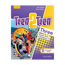 کتاب تین تو تین سه (Teen 2 Teen Three (SB+WB+DVD