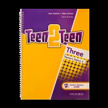 کتاب زبان Teen 2 Teen Three Teachers book+CD