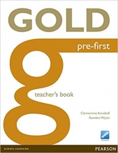 کتاب معلم Gold Pre-First Teacher's Book