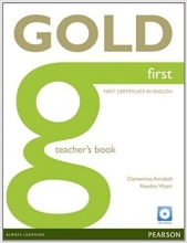 کتاب معلم Gold First Teacher's Book