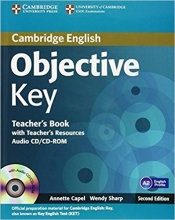 کتاب زبان Objective Key Teacher's Book
