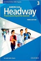 کتاب آموزشی امریکن هدوی American Headway 3 (3rd) SB+WB+CD