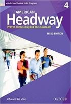 کتاب آموزشی امریکن هدوی American Headway 4 (3rd) SB+WB+CD