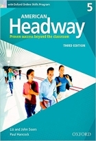 کتاب آموزشی امریکن هدوی American Headway 5 (3rd) SB+WB+CD