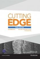 کتاب زبان Cutting Edge Third Edition Intermediate Teacher's Resource Book