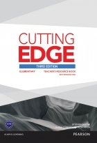 کتاب زبان Cutting Edge Third Edition Elementary Teacher's Resource Book