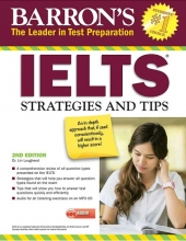 کتاب زبان Barrons IELTS Strategies and Tips 2nd+CD