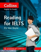 کتاب زبان Collins english for exams Reading for Ielts