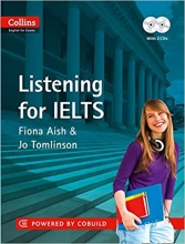 کتاب زبان Collins english for exams Listening for Ielts + cd