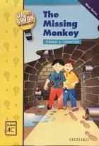 کتاب زبان  آپ اند اوی این انگلیش میمون گمشده  Up and Away in English. Reader 4C: The Missing Monkey