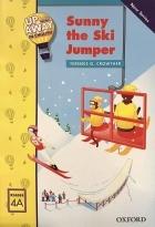 کتاب زبان  آپ اند اوی این انگلیش  پرش اسکی سانی  Up and Away in English. Reader 4A: Sunny the Ski Jumper