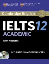 کتاب آیلتس کمبریج IELTS Cambridge 12 Academic with CD