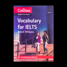کتاب کالینز واژگان برای آیلتس Collins English for Exams Vocabulary for IELTS with CD
