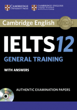 کتاب آیلتس کمبریج IELTS Cambridge 12 General with CD