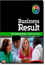 کتاب آموزشی بیزینس ریزالت  Business Result Pre-Intermediate Student's Book