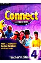 کتاب زبان (Connect 4 Teachers Edition (Second Edition