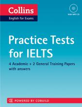 کتاب زبان کالینز پرکتیس تستس فور آیلتس Collins Practice Tests for IELTS