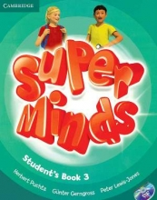 کتاب سوپر مایندز Super Minds Level 3 (S.B+W.B)+DVD