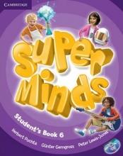 کتاب زبان Super Minds Level 6 (S.B+W.B)+DVD