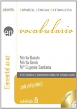 کتاب زبان Vocabulario. Nivel Elemental A1-A2