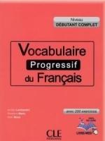 کتاب لغت فرانسوی Vocabulaire progressif du français - Niveau débutant complet + CD MP3