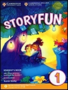 کتاب زبان Storyfun for 1 Students Book+Home Fun Booklet 1+CD