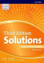 کتاب آموزشی سولوشنز Solutions Upper-Intermediate  3rd Edition