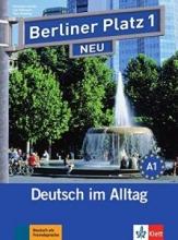 کتاب آلمانی برلینر پلاتز Berliner Platz Neu: Lehr- Und Arbeitsbuch 1 + CD
