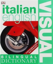 کتاب زبان Bilingual visual dictionary italian - english