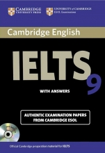 کتاب آیلتس کمبریج IELTS Cambridge 9 with CD