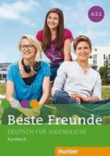 کتاب زبان beste freunde A2.1 deutsch fur gugedliche kursbuch + arbeitsbuch+ cd