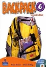 کتاب زبان Backpack 6 Student Book, Work Book + 2CD + DVD