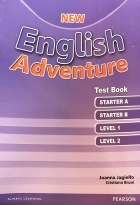 کتاب زبان New English Adventure Test Book