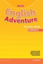 کتاب زبان New English Adventure Teacher's Book Starter B