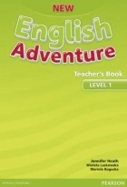 کتاب زبان New English Adventure Teacher's Book Level 1
