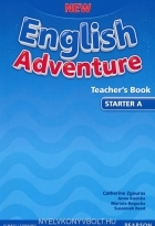 کتاب زبان New English Adventure Teacher's Book Starter A