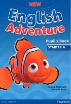 کتاب زبان New English Adventure Pupil's Book Starter A+Activity+CD
