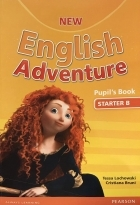 کتاب زبان New English Adventure Pupil's Book Starter B+Activity+CD