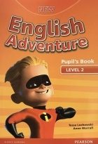 کتاب زبان New English Adventure 2 Pupil+Activity+CD