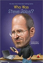کتاب زبان Who Was Steve Jobs