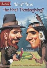 کتاب داستان انگلیسی اولین جشن شکرگذاری چه بود What Was the First Thanksgiving