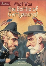کتاب زبان What Was the Battle of Gettysburg