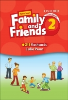 فلش کارت  Flashcards American Family and Friends 2 Second Edition