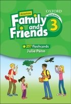 فلش کارت Flashcards American Family and Friends 3