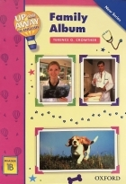 کتاب زبان Up and Away in English. Reader 1B: Family Album + CD