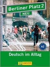 کتاب زبان Berliner Platz Neu: Lehr- Und Arbeitsbuch 2 + CD