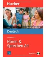 کتاب آلمانی هوقن اند اشپقشن Deutsch Uben: Horen & Sprechen A1 + CD