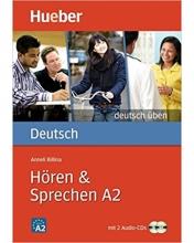 کتاب Deutsch Uben: Horen & Sprechen A2 + CD