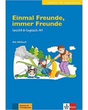 کتاب زبان Einmal Freunde, immer Freunde: Buch mit Audio-CD A1