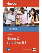 Deutsch Uben: Horen & Sprechen B1 - Buch & Cds